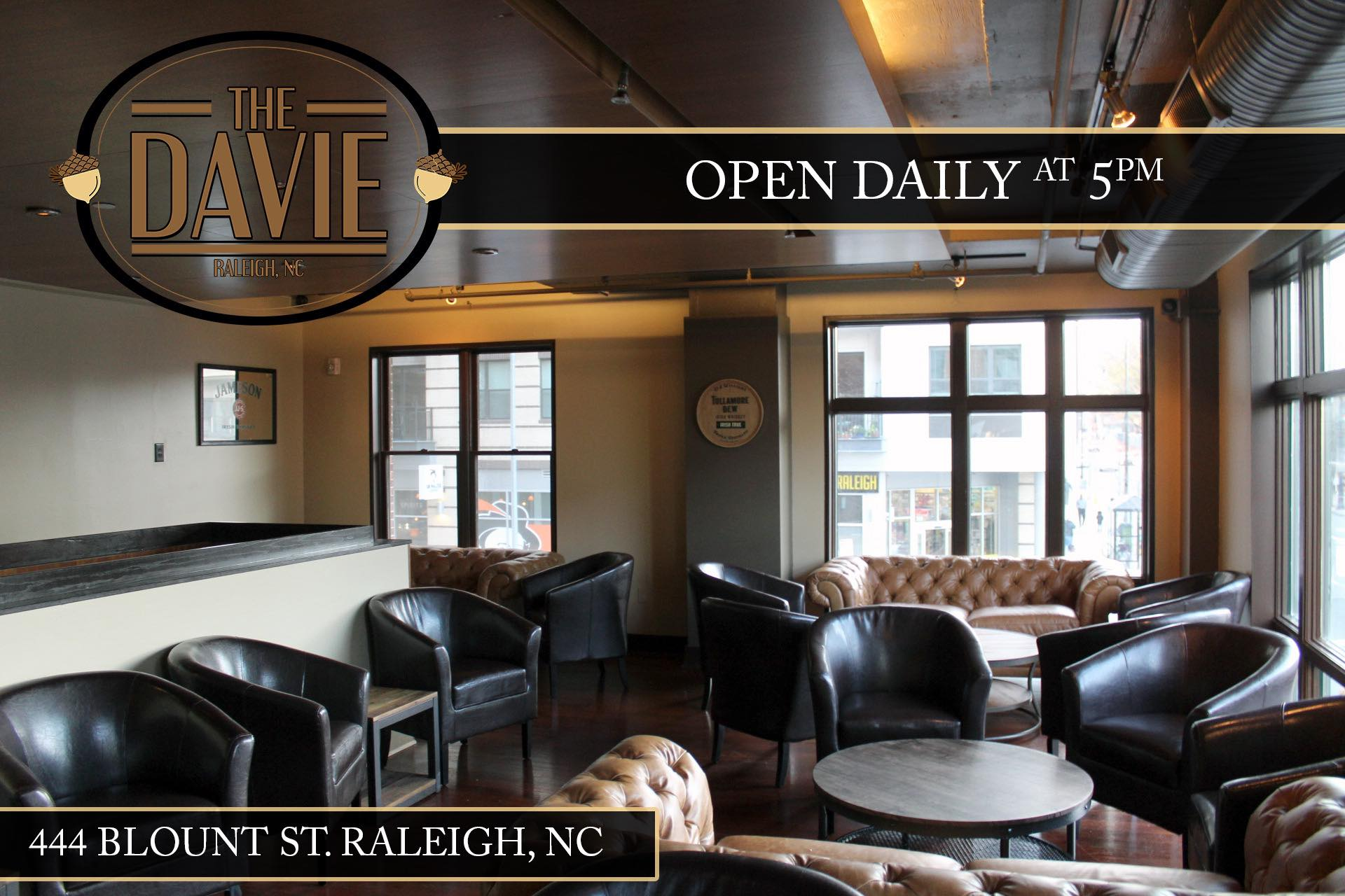 The Davie now open in DTR