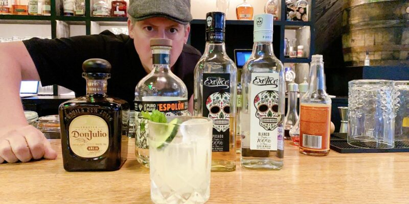 Tequila Tasting & Cocktail Class with Kevin Barrett at Dram and Draught