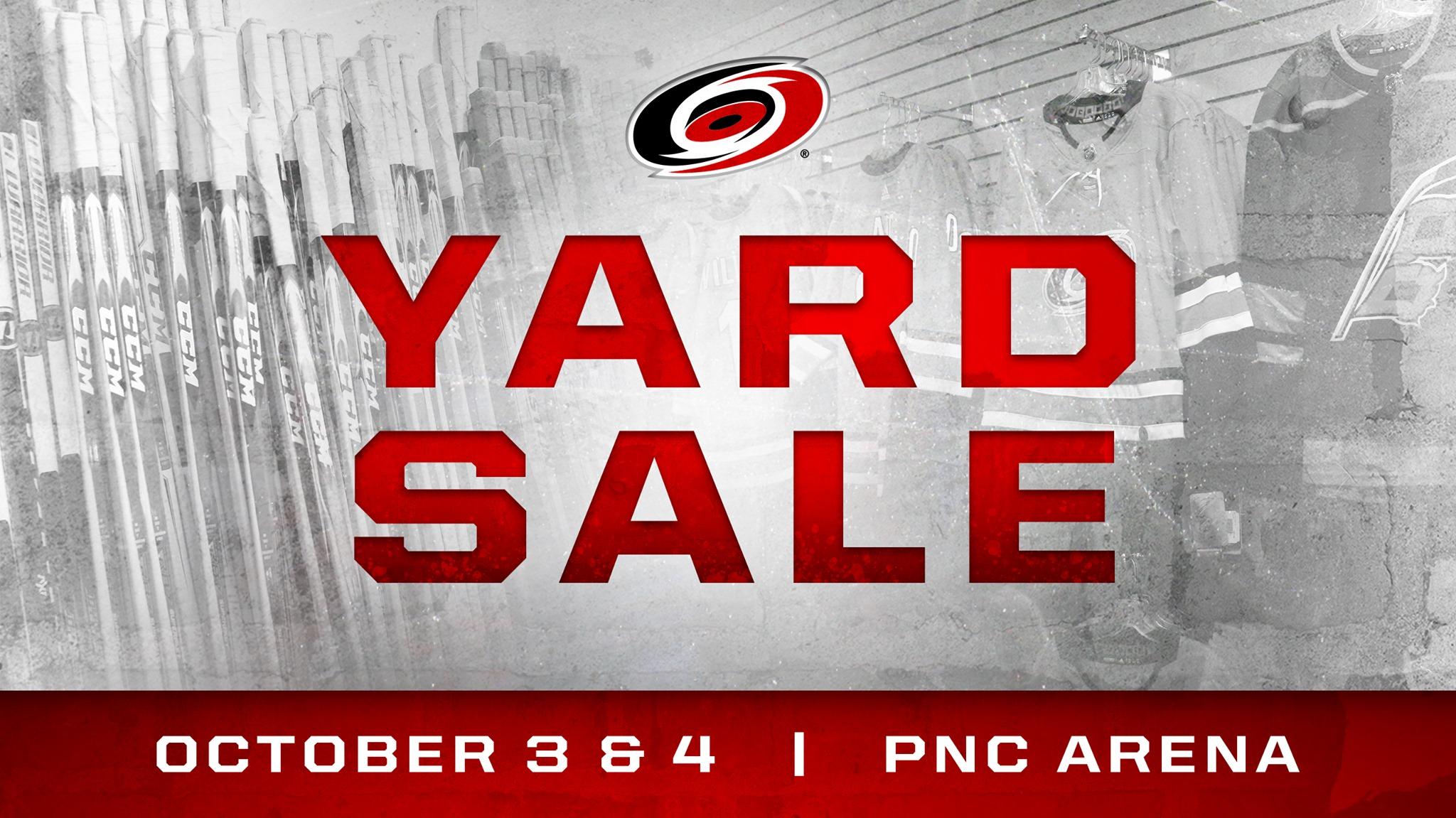 PNC Arena Yard Sale
