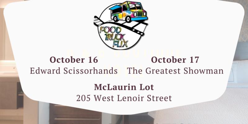 Food Truck Flix + Residence Inn Raleigh Downtown Event