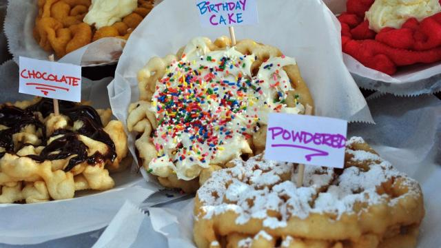 Places offering State Fair-inspired dishes
