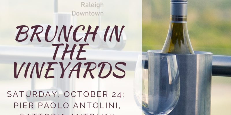 Saturday, Oct. 24 – Noon: Brunch in the Vineyards
