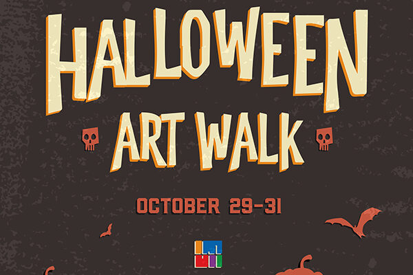Halloween Art Walk in Downtown Raleigh