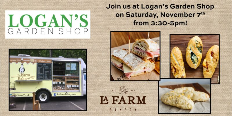 La Farm Bread Truck at Logan's Garden Shop