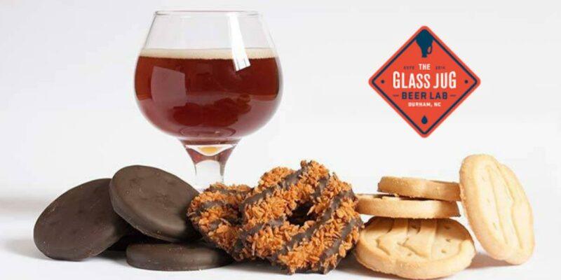 Saturday, Jan. 23 – Saturday, Jan. 30: The Glass Jug Beer Lab's Girl Scout Cookies & Beer Pairing