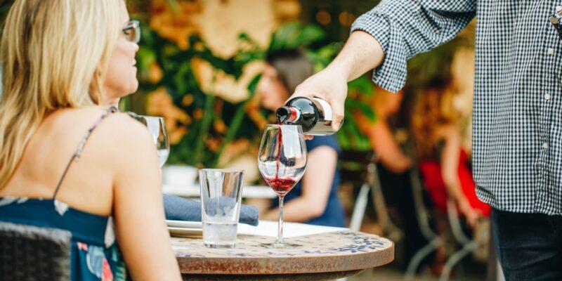 Wine at Mulino Italian Kitchen & Bar