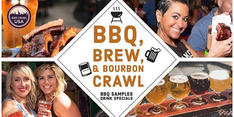 BBQ, Brew, and Bourbon Crawl