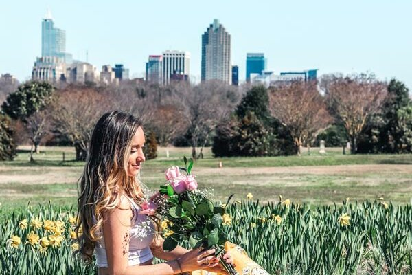 Dix Park in Raleigh NC Photo With Sam