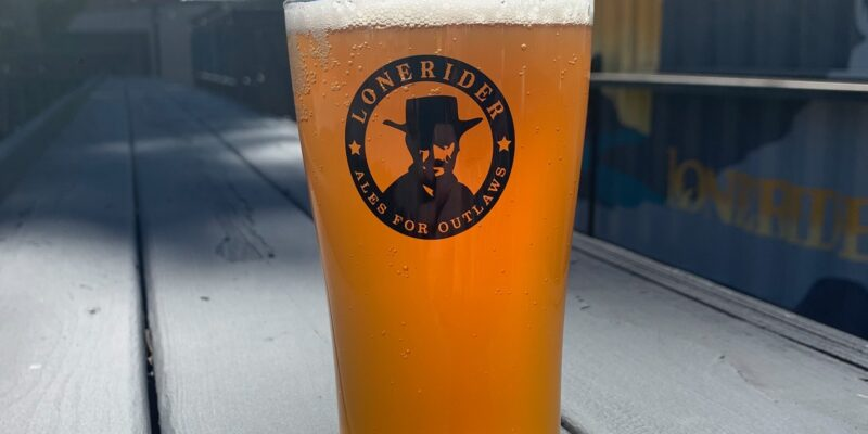 Lonerider Brewery in Five Points in Raleigh NC Patio