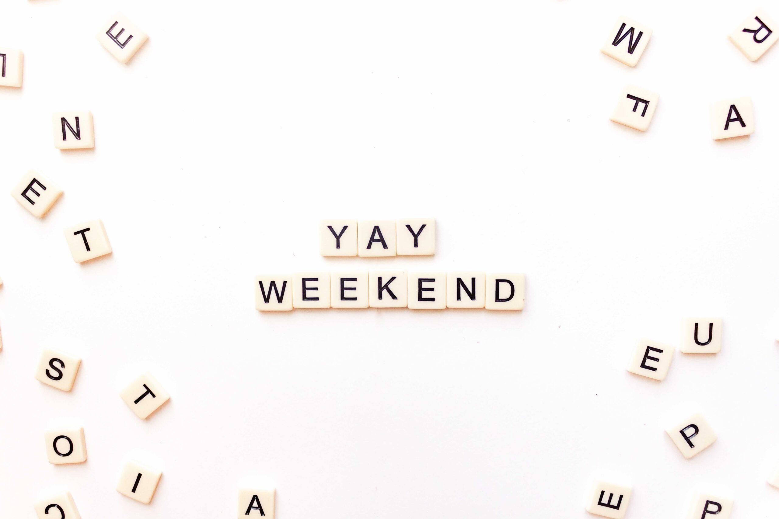 Weekend Update Friday Five