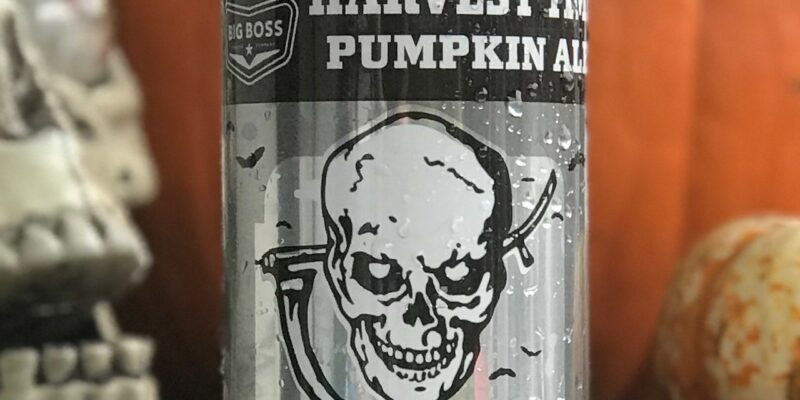 Big Boss Brewing Company Harvest Time Pumpkin Ale